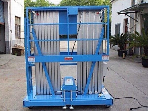 佰旺牌铝合金升降机厂供SJL型铝合金升降机