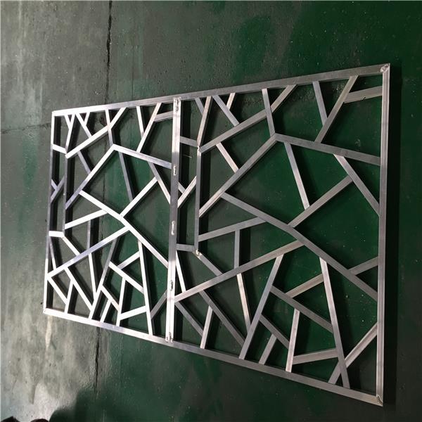 来图定制花式铝窗花-造型铝花格