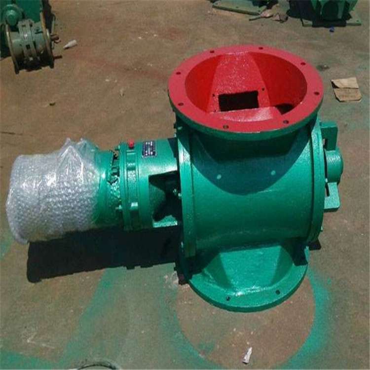 供应加湿搅拌机配套星型卸料器 均匀卸料阀