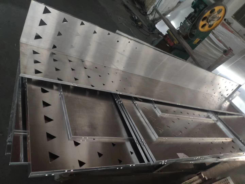 三角形不规律镂空铝板-字体雕花铝板