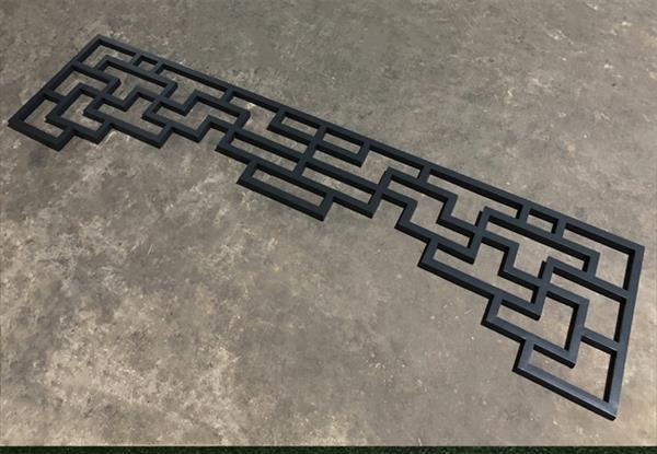 园林铝挂落-复古式铝挂落-德普龙厂家