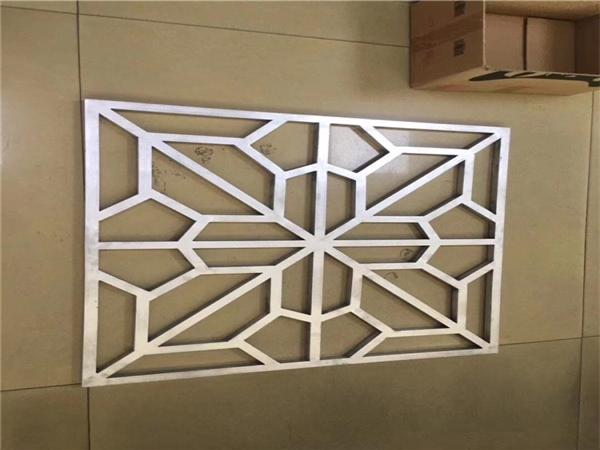 烤漆铝花格 木纹铝花格 中式铝花格厂家直销