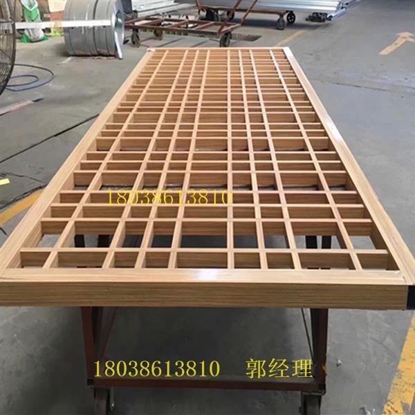 仿木型材烧焊铝窗花-厂家直销
