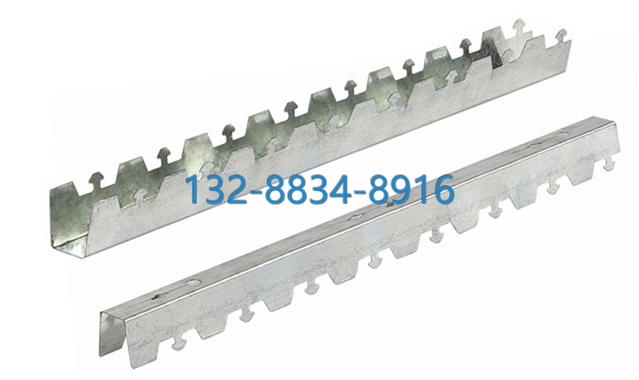C型条扣板安装节点