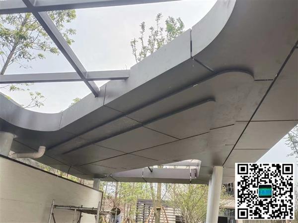 工业园烤漆外墙铝板 门头雕刻冲孔铝板