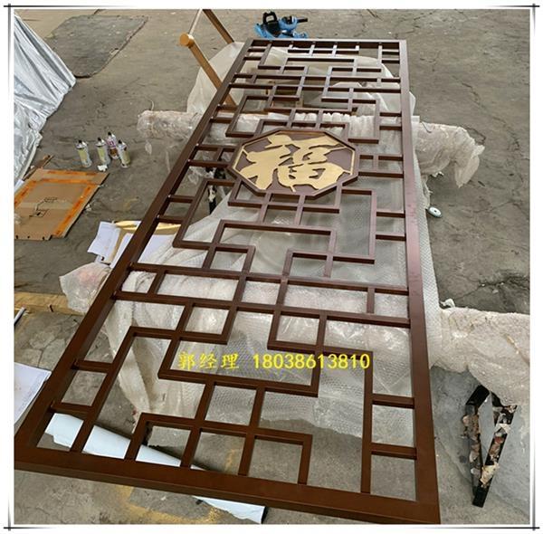 制造室内铝窗花-家装的铝制品
