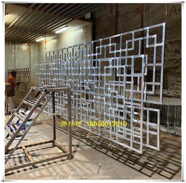中式建筑使用的铝窗花-供应厂家