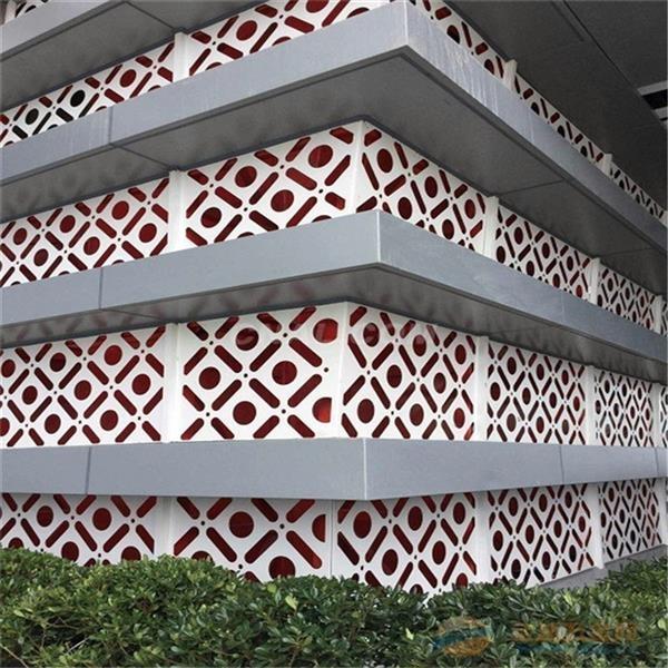 镂空单板 氟碳雕花铝单板 厂家价格