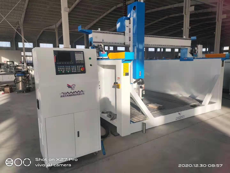 吉林加工速度快的铝型材数控钻铣床