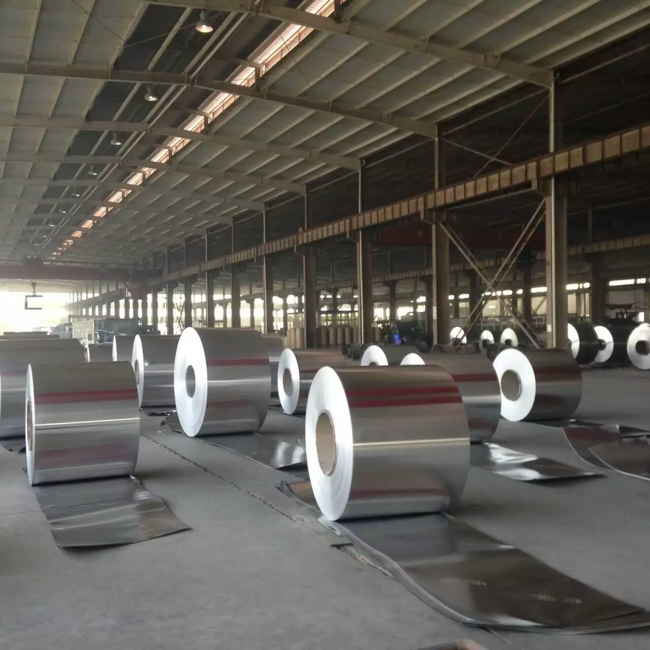 防锈合金铝卷,电厂合金铝卷加工生产