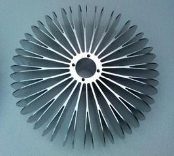 太阳花散热器铝型材 广美铝业