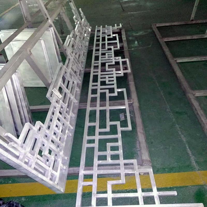 花园凉亭装饰铝挂落 木纹铝挂落厂家生产