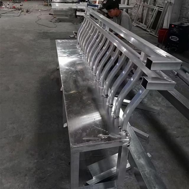 供应铝合金古建筑构件-中式仿古铝合金美人靠