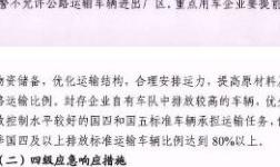 孝义市关于重污染天气限产方案 未提及氧化铝