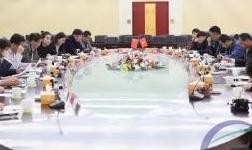 临朐县工商联铝材及关联配套产业小组活动会议在华建铝业集团召开