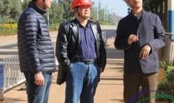 云南冶金集团副董事长孙小跃到文山铝业公司调研