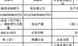 关于对云南铝业股份有限公司绿色低碳中国水电铝加工一体化鹤庆项目电解铝产能置换方案的公示