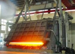 东铝熔铸二作业区铝液流槽改造见成效