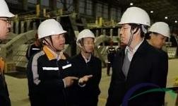 国家统计局核算司调研组到华磊项目现场调研