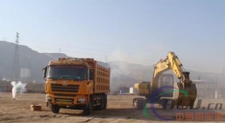 正西北边铝特种行业项目末了尾土建破土阶段