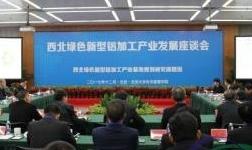 西北绿色新型铝加工产业发展座谈会举行 厉以宁等谈西部地区产业绿色升级