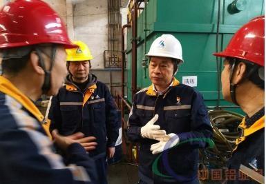 西南铝党委书记尹雪春深入基层检查强基固本行动落实情况