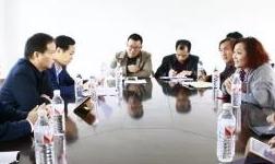 平果县领导协调推进华磊新材料有限公司铝水通道项目建设