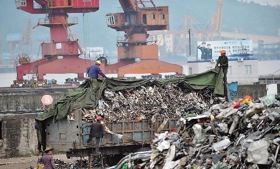 中国的洋垃圾禁令使加拿大城市陷入困境