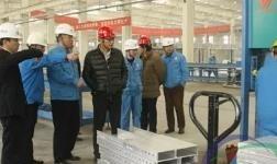 中国模板脚手架协会领导走访中建铝新材料有限公司