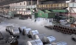 天成彩铝公司首台冷轧机组试车成功
