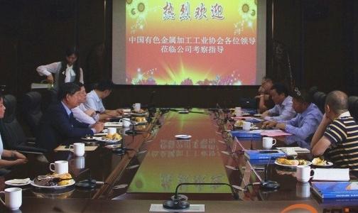 范顺科理事长到山东省临沂市铝加工企业调研