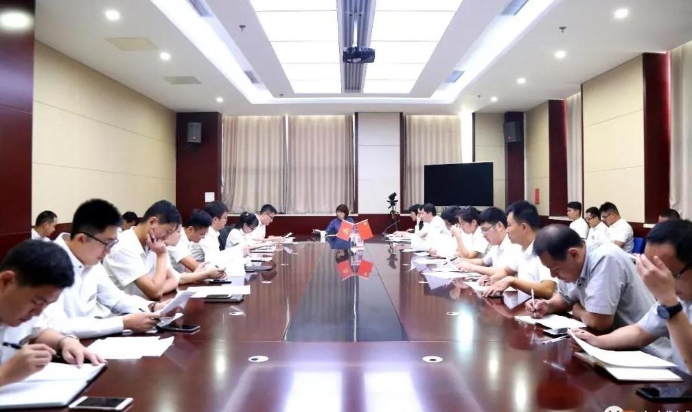 第八届中国(临朐)家居门窗博览会暨第二届全铝家居展览会筹备大会今日在华建铝业集团召开