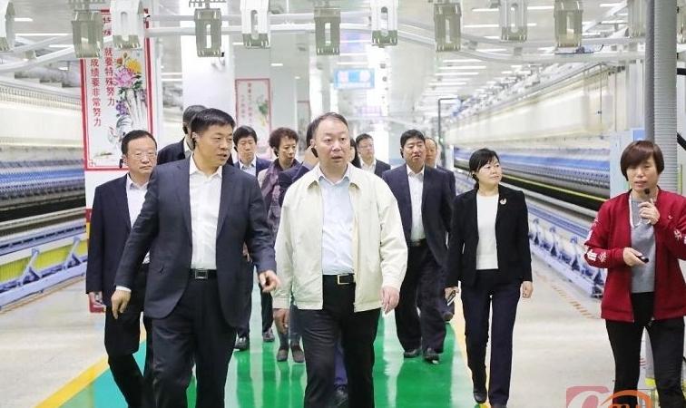 中国银行山东省分行行长李民来魏桥创业集团就双方深化合作进行调研