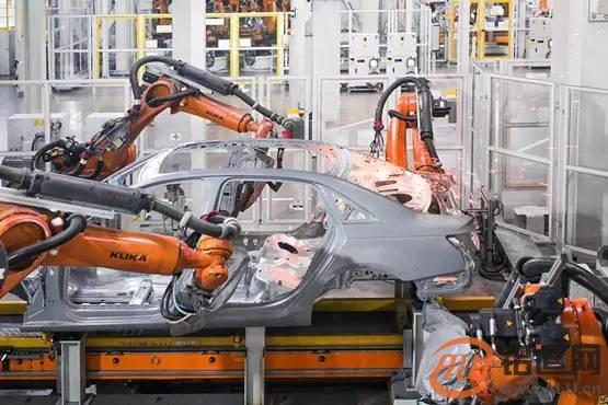 特斯拉全鋁車身生產全過程,漲知識!