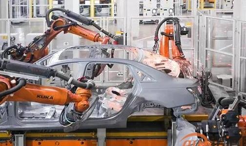 特斯拉全铝车身生产全过程,涨知识!