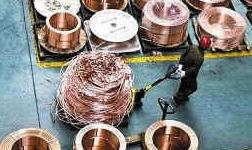 前三季度十种有色金属产量4027万吨同比增长4.2%