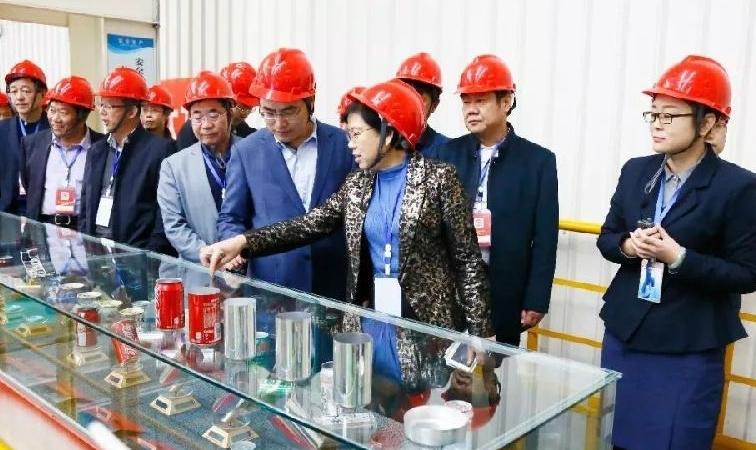 邹平市政协就涉铝产业科技创新工作来魏桥创业集团视察