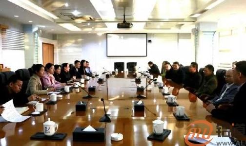 香港理工大学、江南大学教授专家团来魏桥创业集团参观交流