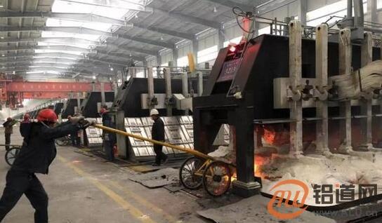 青海正西部水电拥有限公司首台420KA父亲修电松槽顺顺手焙烧展触动