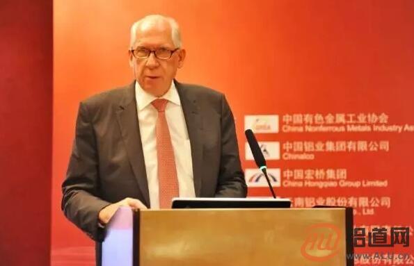 国际铝协秘书长罗恩・耐普将于2019年12月卸任