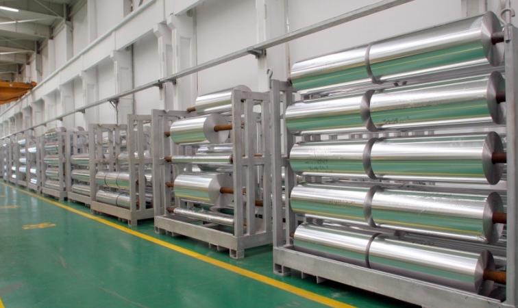 2017年中国铝箔产量占全球铝箔总产量近6成
