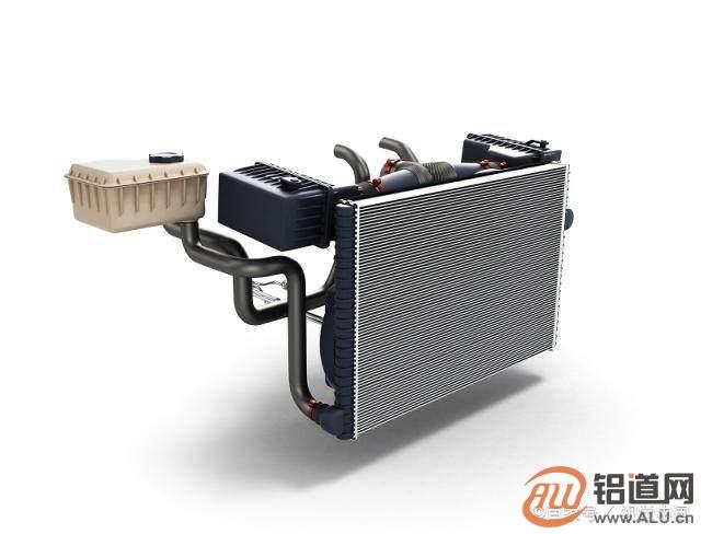 汽车空调已经100%铝合金化,热交换器的核心材料―钎焊复合铝材