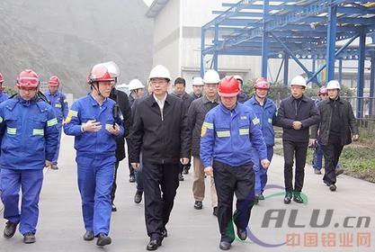 重庆市涪陵区委书记周少政调研东方希望