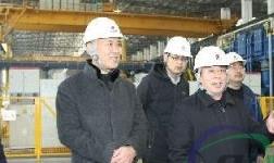 兖矿集团公司到轻合金公司检查安全环保工作