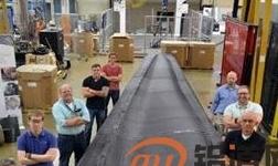 桑迪亚成功开发3D打印风力发电机叶片模具
