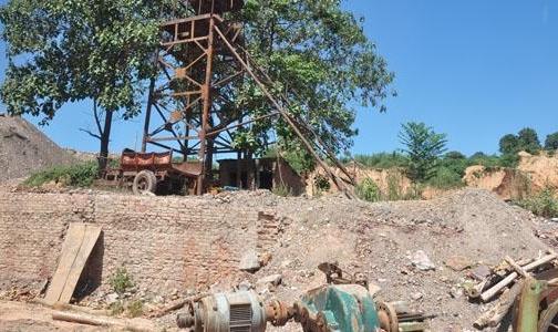 废弃铝矿区变成生态农庄
