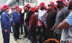 牙买加氧化铝厂来华培训学员到东兴铝业公司电解铝生产线参观