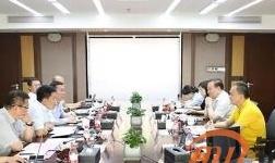 新疆特变、新疆众和领导到访杭州锦江集团