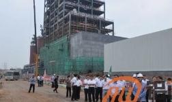 淄博市委领导到中铝山东调研重点项目建设