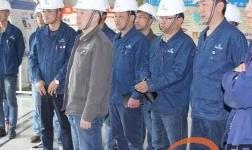 平安高精铝业公司组 织职工赴百河铝业公司进行学习交流